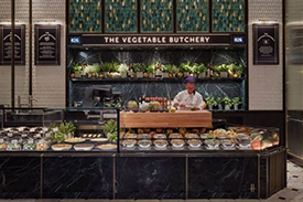 Inspiration Photo: The Vegetable Butchery, Harrods Fresh Market Hall, London